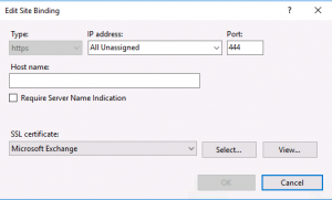 EWS credential prompt with Skype for Business in Exchange