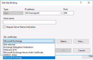 EWS credential prompt with Skype for Business in Exchange Hybrid